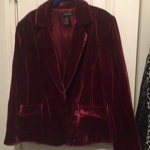 Lane Bryant velvet blazer in size 20
